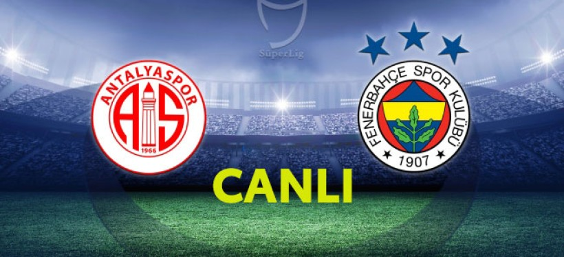 Antalyaspor  Fenerbahçe - Canlı