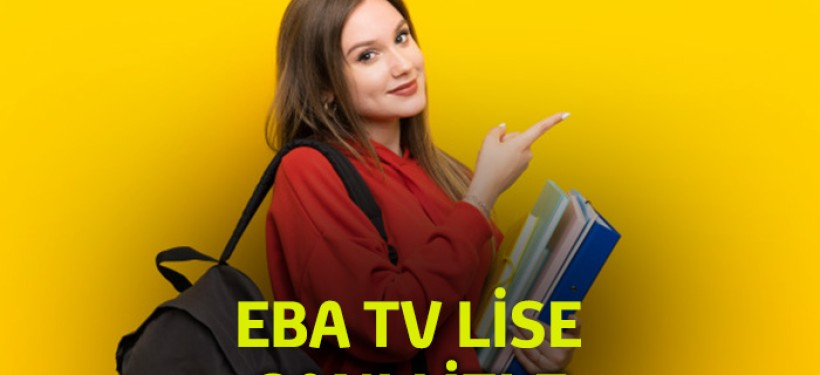 EBA TV Lise Canlı izle