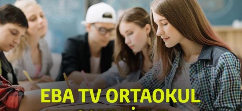 EBA TV Ortaokul Canlı izle