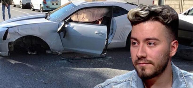 Enes Batur Trafik Kazası Yaptı!