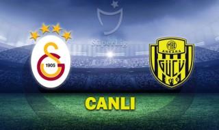 Galatasaray - Ankaragücü canlı izle