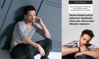 Murat Boz, Farah Zeynep Abdullah aşkı için açıklama yaptı!