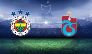 Fenerbahçe - Trabzonspor Canlı izle