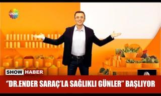 Dr. Ender Saraç'la Sağlıklı Günler Başladı! Yeni bölüm canlı izle